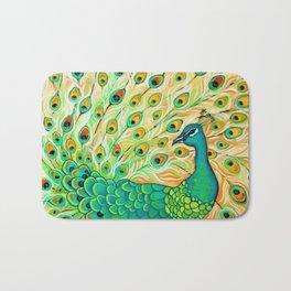 Pretty Pretty Peacock Bath Mat