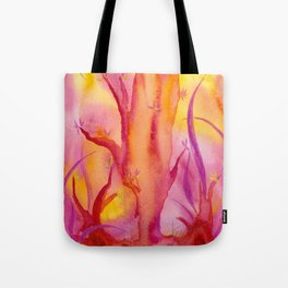 ABSTRACT - Magic Forest Tote Bag
