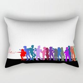 LAV Line-Up Rectangular Pillow