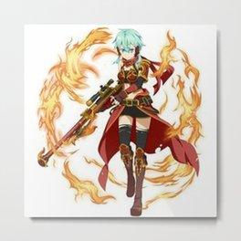 SAO Metal Print