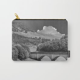 Ladybower Reservoir Monochrome  Carry-All Pouch