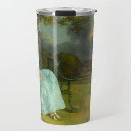 "Thomas Gainsborough ""Mr and Mrs Andrews"" Travel Mug"