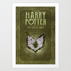 HP Book 6 (Book Cover) Art Print