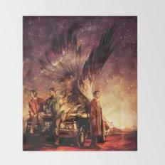 Carry On My Wayward Son Throw Blanket