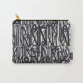 A urban city photograph of wall and a graffiti in Arab style Carry-All Pouch