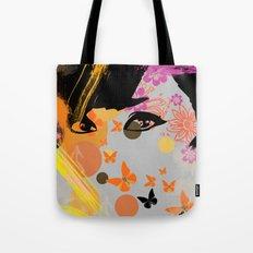 Audrey again Tote Bag