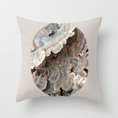 Fungi II Throw Pillow