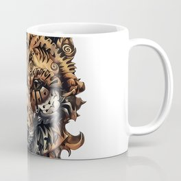 Steampunk - Fox Coffee Mug