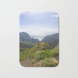 The view on Gran Canaria island Bath Mat