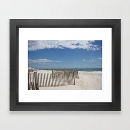 Long Island Beach Framed Art Print