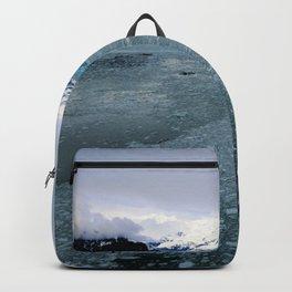 Alaska Hubbard Glacier Floating Blue Ice Backpack