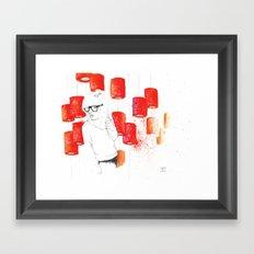 Solitudine Framed Art Print