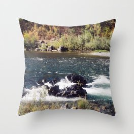 Tranquility on a Summer's Day... Throw Pillow