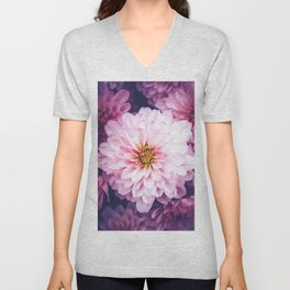 LaPinko Flower Unisex V-Neck