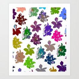 Gardenias in Color [Cecilia Lee] Art Print