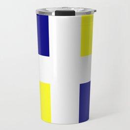 Flag of old louisiana Travel Mug