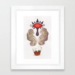 Phantom Shadow Beast Framed Art Print