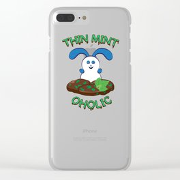Ernest | Thinmintoholic Clear iPhone Case