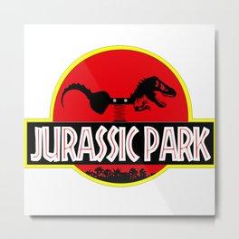 Jurassic Park Part 2 Metal Print