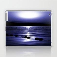 Turkish Sunrise in Blue Laptop & iPad Skin
