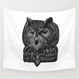 Cool owl Wall Tapestry