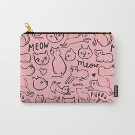 Meow Cats Carry-All Pouch