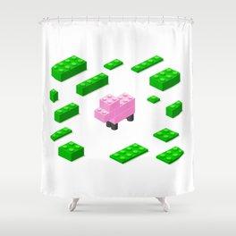 LEGOSHEEP Shower Curtain