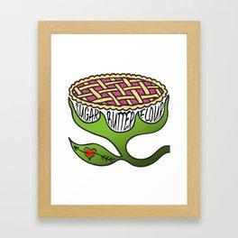 Sugar Butter Flour Framed Art Print