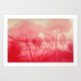 Memory Landscape 3 Art Print