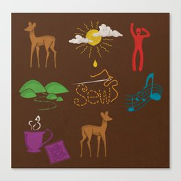 Doe Ray Me Canvas Print