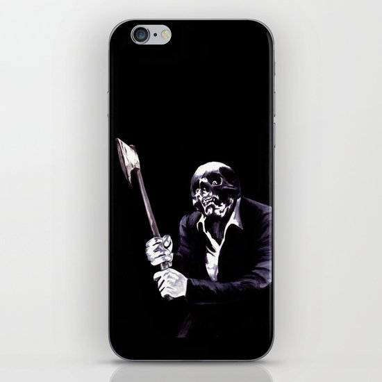 Bastard's Got A Hatchet  iPhone & iPod Skin