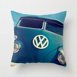 VW Throwback Throw Pillow
