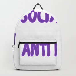 Anti People Social Club Funny Funny Backpack