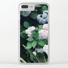 Hydrangeas in the Yard Clear iPhone Case