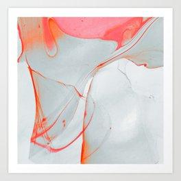 melt down Art Print