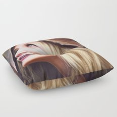 Princess In The Past Floor Pillow
