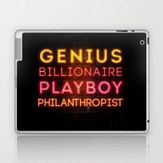 Iron Man: Genius Billionaire Playboy Philanthropist Laptop & iPad Skin