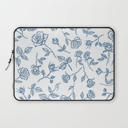 Roses are Bleue Laptop Sleeve