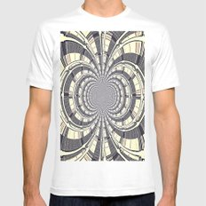 KALEIDOSCOPIQUE White MEDIUM Mens Fitted Tee