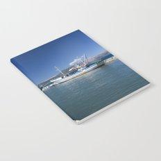 Corfu Fishing Boat Notebook