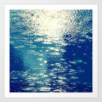 sparkles Art Prints featuring Sparkles by Diana Cretu