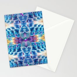 Parallel visions Stationery Cards
