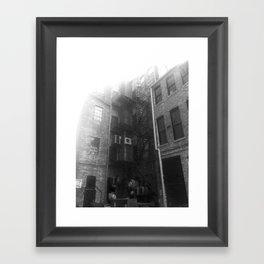 Fire Escape (Sunny) Framed Art Print