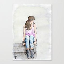 Punky Géraldine Canvas Print