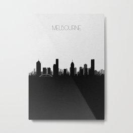 City Skylines: Melbourne Metal Print