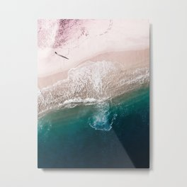 Ocean Walk V Metal Print