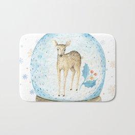 Christmas deer #2 Bath Mat