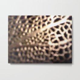 Fenced-IN Metal Print