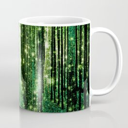 Magical Forest Green Elegance Coffee Mug