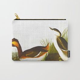Eared Grebe Bird Carry-All Pouch